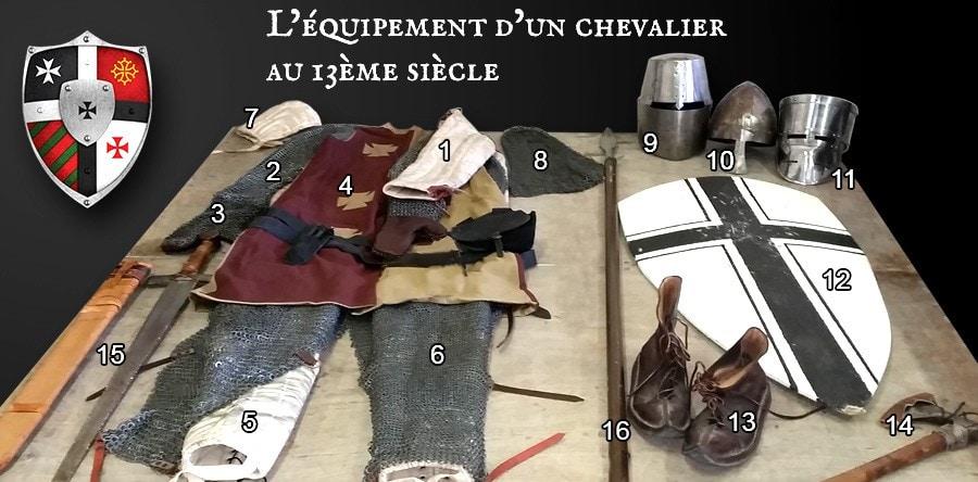equipement-chevalier-13eme